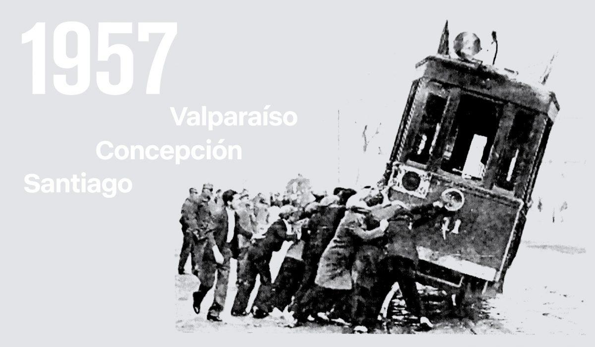 """2 de abril de 1957, cuando el proletariado derrotó a los pacos en """"La Batalla de Santiago"""""""